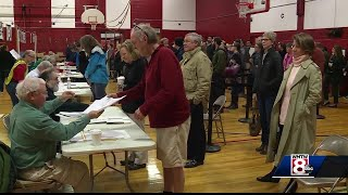 Voter turnout high across Maine on Election Day
