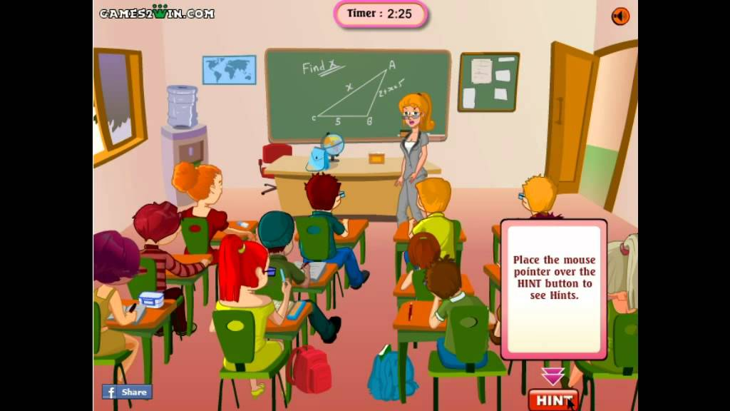 Funny Classroom Game   Y8 com Online Games by malditha   YouTube