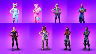 FORTNITE ALL EPIC SKINS