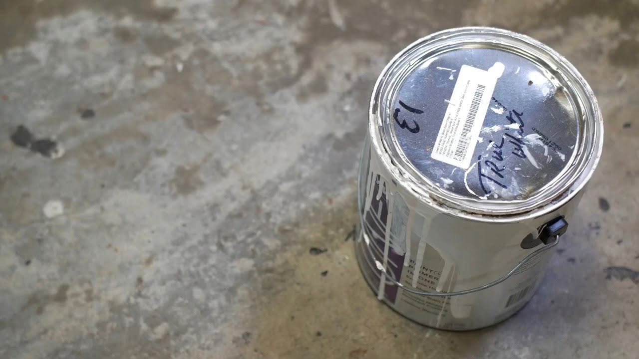 Superbe Hacks: Dispose Of Paint With Kitty Litter