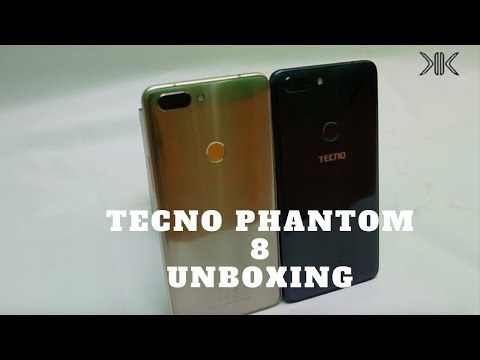 TECNO Phantom 8 Unboxing and First Impressions.