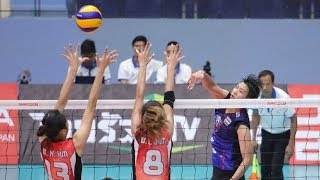 AVC WOMEN'S U23 VOLLEYBALL CHAMPIONSHIP 2019 | POOL F | THA - HKG