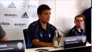 SV Elversberg - Waldhof Mannheim 1 zu 0 plus Pressekonferenz