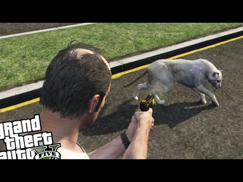GTA 5 PC MOD'S - Wild Life Rescue Recovery! (Save Animals) GTA V New Missions