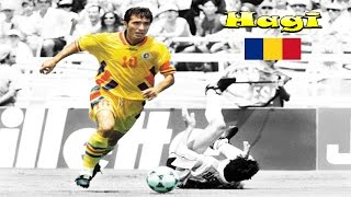 Gheorghe Hagi - ★Dribles ,Passes  Gols / Skills, Assists  Goals★ ★The Best Player From Romania★