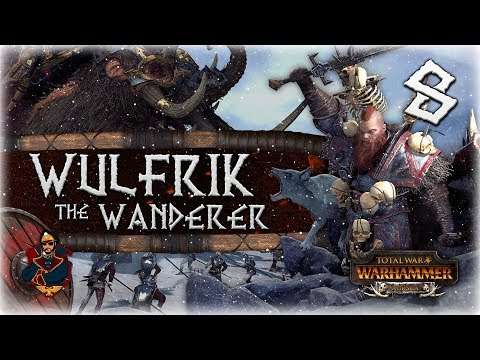 [8] Monster Hunt: Frigustrex The Cold-Voider - Total War: Warhammer Norsca (Wulfric Campaign)