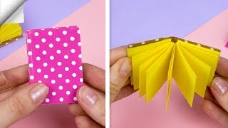 DIY mini notebook easy | How to make notebook