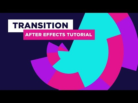 After Effects Transition Tutorial in Circle Animation - No Third Party Plugin