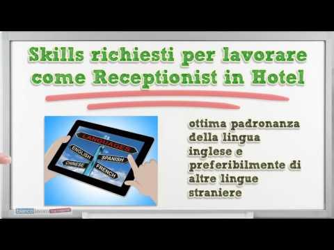 Receptionist In Hotel Cosa Fa Ed Offerte Di Lavoro