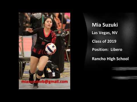 Mia Suzuki (Libero) Volleyball Highlights - Dig This! vs BBC 2016