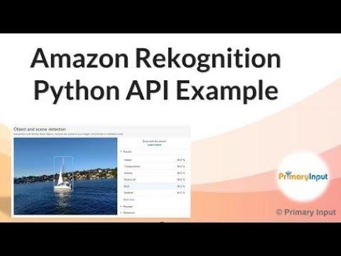 Amazon Rekognition Python Tutorial thumbnail