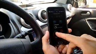 Confort Car - Ligando o carro pelo celular