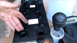 Корректируем плотность электролита в АКБ  Сами.