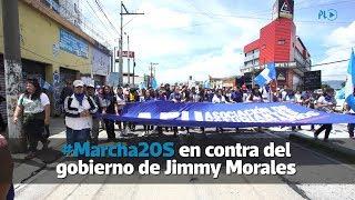 #Marcha20S en contra del gobierno de Jimmy Morales | Prensa Libre