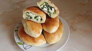 Пирожки с яйцом и зеленым луком!