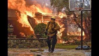 Anaheim fire, Orange County wildfires California,