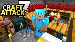 Rewi macht Stress & Trymacs bekommt Farmingunterricht! - Minecraft Craft Attack 7 #03