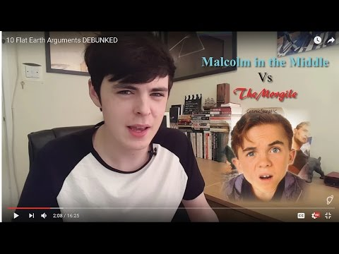 FLAT EARTH - (Almost) Malcolm in the Middle Debunked