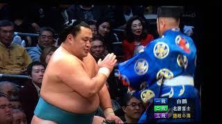 大相撲 #nhk_oozumou   #玉鷲 #隠岐の海.