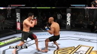 EA Sports UFC Fight Night Round 2 on Xbox One in 1080p HD