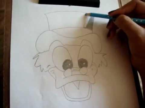 Desenhando Tio Patinhas