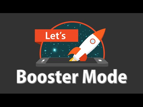 Activating Booster Mode (★only Android OS 4.4 Users)