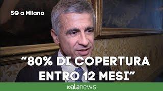 """5G a Milano, Bisio: """"80% di copertura entro 12 mesi"""""""