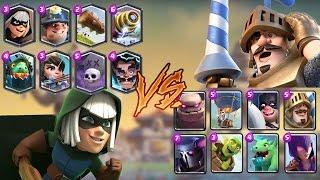 Legendaries vs Epic   Clash Royale Challenge