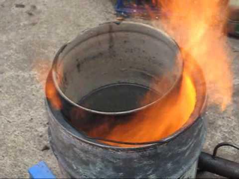 Waste Oil Burner Wvo Wmo Youtube