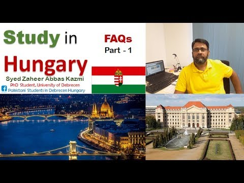 Study in Hungary Part - 1 || Frequently Asked Questions (FAQs)