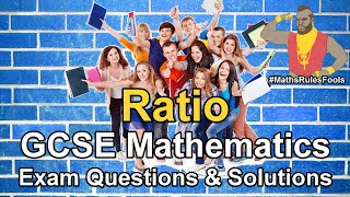 Ratio and Proportion - Exam Questions (harder - higher tier)