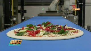 Teknologi Robot untuk Pembuatan Pizza
