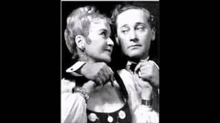 """Udtog af """"Sommer i Tyrol""""  Ellen Gottschalch og Max Hansen  1948"""