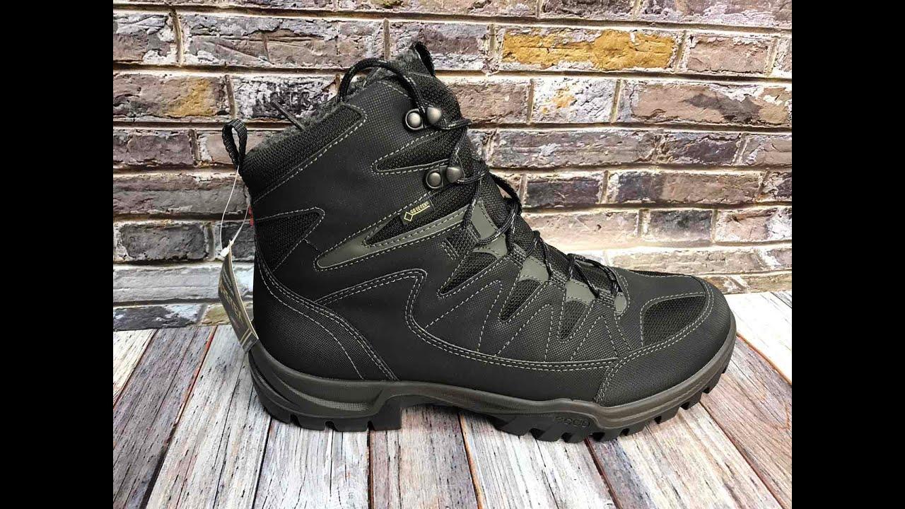 Ecco Xpedition III  (811174-53859) Зимние мужские ботинки #ecco #EccoXpedition