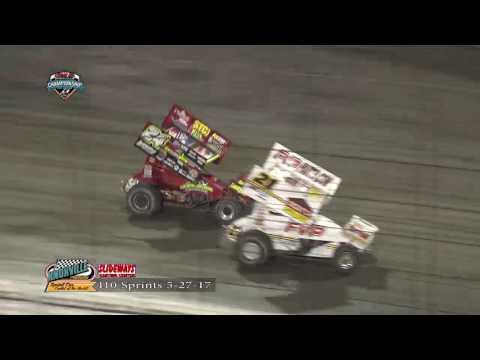 Knoxville Raceway  410 Sprints 5-27-17
