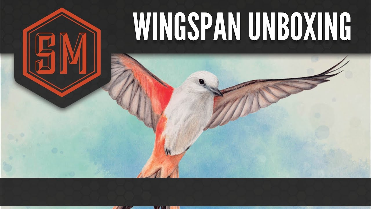 wingspan unboxing youtube