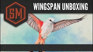 Wingspan Unboxing