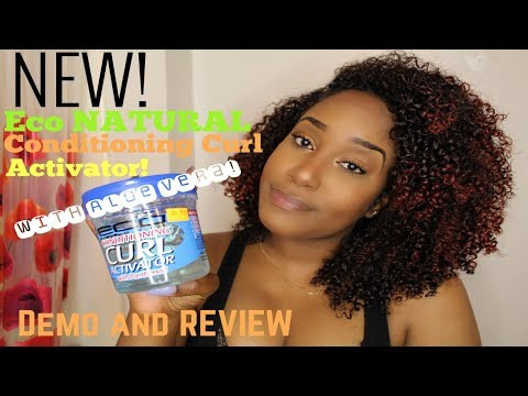 Eco NATURAL Conditioning ACTIVATOR Gel   DEMO AND REVIEW!