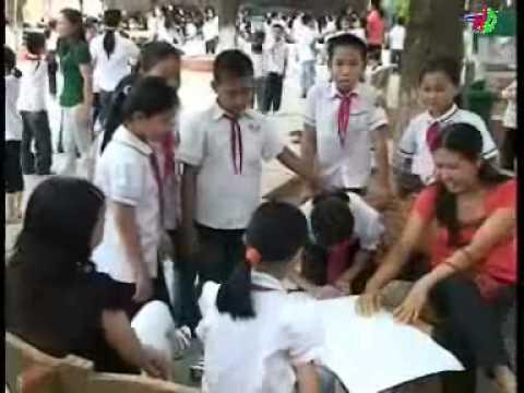 XD trường học thân thiện, HS tích cực ở trường TH Hải Tân TP HD