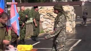 Добровольцы из Румынии приняли присягу на верность Новороссии