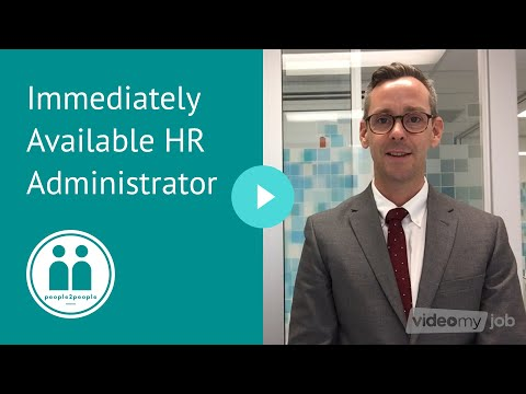 Immediately Available HR Administrator
