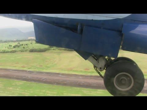 Island Air Dash 8-100 Takeoff Lihue, Kauai Island