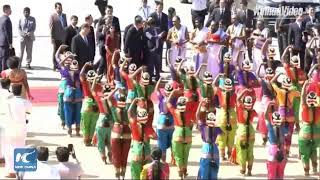 LIVE: President Xi Jinping arrives in Chennai, India