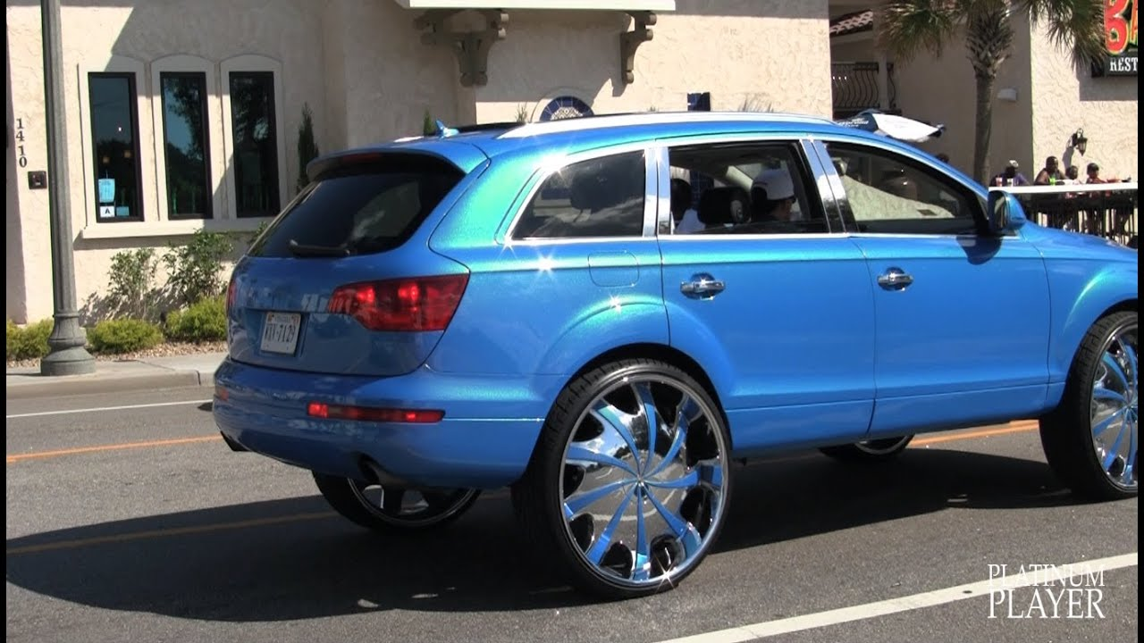 Audi Q7 On 30 Inch Starr 569 Bear Myrtle Beach Youtube