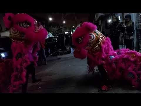 New York Brooklyn Lion Club 2018 Lion Dance