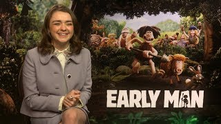 Maisie Williams on Early Man and Arya's best kills in Game of Thrones