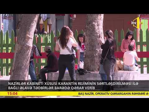 Operativ Qərargah: Xüsusi Karantin Rejiminin Müəyyən Günlərdə Sərtləşdirilməsi Qərara Alınıb