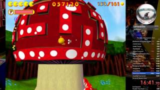 Pac-Man: Adventures in Time Speedrun (Hard - 48:59.45) [Former WR]