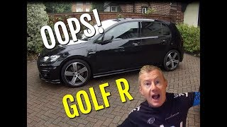 Video I bought a new VW Golf R - Oops. Motorbike next... download MP3, 3GP, MP4, WEBM, AVI, FLV Agustus 2018