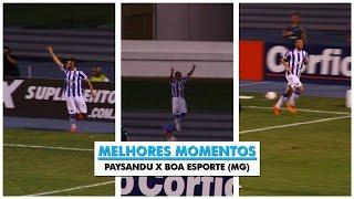 Melhores Momentos - Paysandu x Boa Esporte (MG) - 06/09/2015